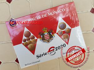Coffret BU 1 Cent à 2 Euro Monaco 2020 - Brillant Universel Officiel