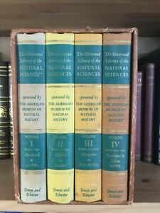Illustrated Library of the Natural Sciences 4 Volume Set in Slip Case ©1958