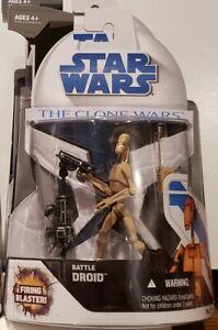 "Star Wars - Clone Wars (No. 7): Battle Droid 3.75"" Figure"