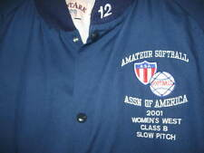 A.S.A National Champions JACKET XL 2001 Womens West Class B Slow Pitch softball