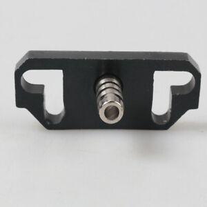 For Honda Acura Racing Fuel Pressure Regulator Rail Adapter Riser Black Aluminum