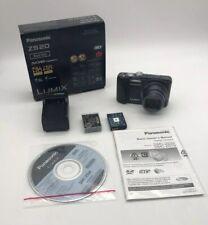 Panasonic LUMIX DMC-ZS20/DMC-TZ30 14.1MP Digital Camera - Black Tested Works