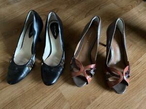 Le Saunda Charles & Keith Heels Lady Work Shoe Size 34 and 35