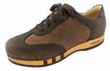 Woody Herren Sneaker Cioccolato Braun Gr 43-46 Holzschuh mit biegsamer Sohle