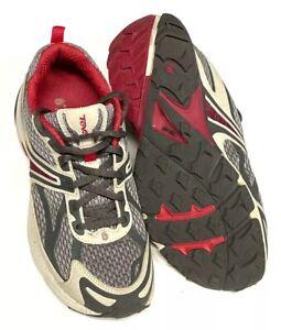 Teva Womens Spider XC Flex Zone ShocPad Size 8 Magenta Gray Trail Running Shoes