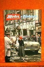 Motor + Fahrer Reise Revue 8/55 Karmann Ghia Coupe