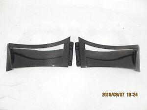 Carbon fiber front small fender scoops vents Only fit for Lotus Evora S 350 GT4