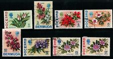 Bermuda 1970 1975 Flowers selection to 17c inc both Passion Flowers Used