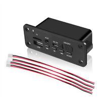 Bluetooth 5.0 MP3 Player 2*3W Decoder Board Speaker Car FM Radio Modul Z_ws