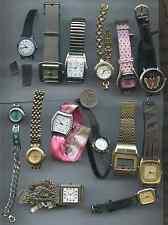 Vintage Large Lot of 21 Watch Wristwatch Aolida Geneva Kessaris Cherokee