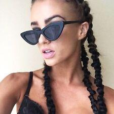 Cat Eye Sunglasses Glasses Small Women Sun Vintage Frame Oval Chic Men