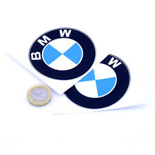 BMW Badge Decal Vinyle Stickers Voiture 75 mm x2 Moto Course Racing Rally