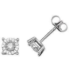 Diamant-Ohrringe Ohrstecker weiss gold 0.35 karatgewicht Schätzung Zertifikat