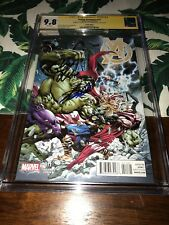 YOUNG AVENGERS #11✳️1:20 Variant✳️CGC SS 9.8✳️SIGNED STAN LEE MARK RUFFALO