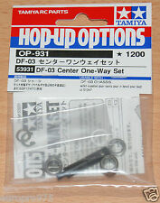 TAMIYA 53931 DF-03 centro one-way Set (DF03/DF03Ra/DF-03Ra/DF03MS), Nuovo con imballo