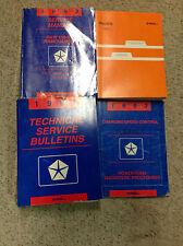 1993 DODGE RAMCHARGER TRUCK D&W DW 150 250 350 Service Shop Repair Manual Set