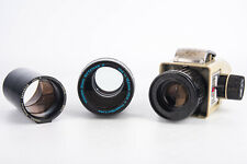Lot of 3 Kodak Ektanar Projection Lenses & Filmstrip Adapter V10