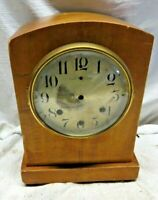 Very Rare! Antique Waterbury Silent Chime Clock Mantle Model 900 (Case & Dial)