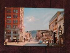 Vintage Postcard: Chillicothe St, Portsmouth OH