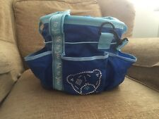 Grooming Kit Bag BNWT - Children's Horse Riding Grooming Kit Bag Blue Me To You