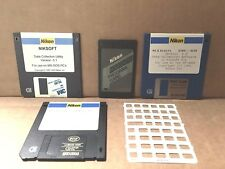 Nikon DR-48 Program Card for HP 48GX Calculator s with 3 Software Drives