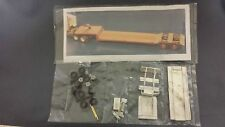 Alloy Forms #3017 - 45 ft. Heavy Duty Lowboy Trailer kit. 1/87th scale.