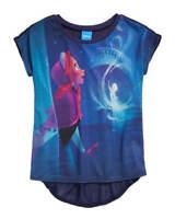 Disney Frozen Anna and Elsa Magic Girls Blue T-Shirt