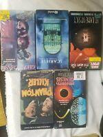 Lot Of 5 Suspense/Horror VHS Movies