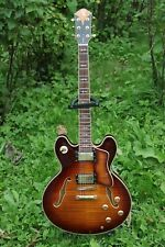Michael Kelly Deuce Classica Tigers Eye 6 String Guitar + Hardcase ~ Excellent ~