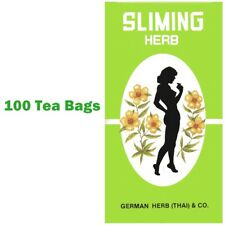 100 Slimming German Sliming Herb Tea Bags Natural Weight Loss Laxative