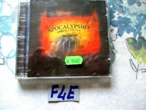 CD MUSICA APOCALYPSHIT MOLOTOV  PER BRANI VEDI FOTO 2 (F4E)