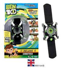 BEN 10 DELUXE OMNITRIX WATCH 100+Alien Phrases & Sound Effects Christmas Gift UK