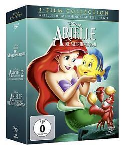 Arielle, die Meerjungfrau - Teil 1, 2 &3 [3 DVDs/NEU&OVP] Walt Disney Klassiker