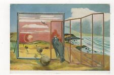 Paul Nash Landscape From A Dream Tate Gallery Plain Back Art Card  033b