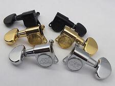 Wilkinson WJN-03 Meccaniche 3+3 Sintonizzatori IN 3 Colori Cromo Nero o Oro