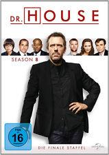 Dr. House - Die komplette 8. Staffel (Hugh Laurie)                   | DVD | 900