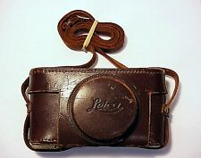 Early Leica Leather Case  | Needs Repair | Pls Read | No 112 |