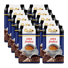 Gullo Caffè 100% Arabica, 1000g ganze Bohne 10er Pack