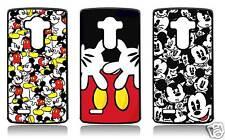 MICKEY MOUSE LG G4 G3 G2 G4C G4 MINI STYLUS G5 COVER CASE CARCASA FUNDA