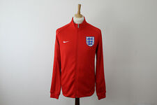Nike England Football Red Zip Up Tracksuit Top Track Jacket size M