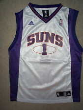 ADIDAS Phoenix Suns AMARE STOUDEMIRE nba THROWBACK Jersey YOUTH KIDS BOYS (L)