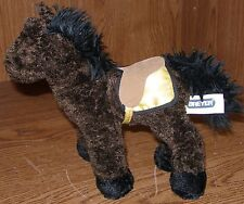 """Breyer Horse War Admiral plush #10112 retired Racehorse Great Used 8"""" tall x 9"""""""
