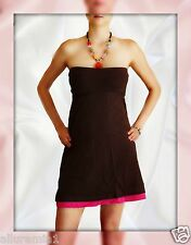 VICTORIA'S SECRET TUBE DRESS  BROWN Size S