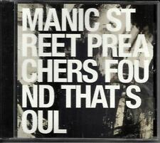 MANIC STREET PREACHERS Found that Soul PROMO RADIO DJ CD Single 2001