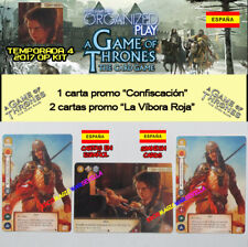 Game of thrones tcg 2017 season 4 spanish-confiscation kit + 2 viper red