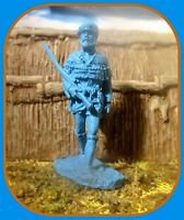 *Barzso*Pioneer&Alamo*gos*w/Marx~54mm*Resin*Indian 1:32 Blue or Gray ASK PLEASE!