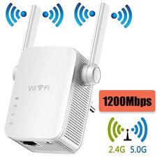 R?p?teur Wifi 1200mbps Routeur Amplificateur Extensions Booster Signal Sans Fil