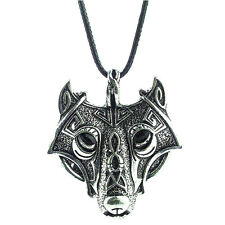 Animal Head Pendant Necklace Chain Gift Fashion Men's Cool Stainless Steel Wolf