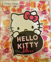 """HELLO KITTY """"IS"""" ALBUM  & ALL THE STICKERS TO COMPLETE THE ALBUM ALL BRAND NEW"""