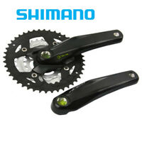 SHIMANO Alivio 9-Speed 2-PCS Mountain Bicycle Crank Set Silver - 170MM, 40X30X22T W//O CG FC-M4050